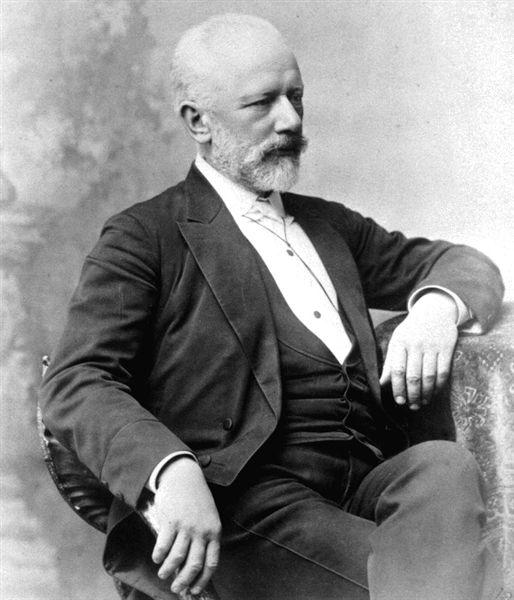 портрет Чайковского фото